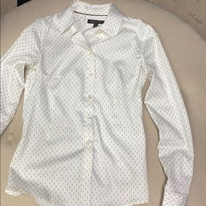 Banana Republic non-iron fitted shirt size 0